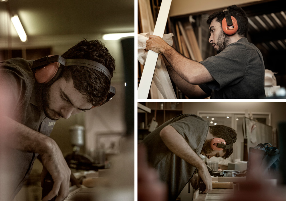 Jacob Duggan, Apprentice Framer at Dawsons Picture Frames Gold Coast